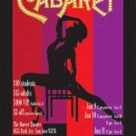 Cabaret: January 9-12