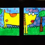 Cartoon Diptych