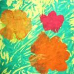 Warhol Flower Monoprints