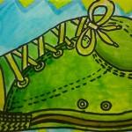 Contour Line Shoe